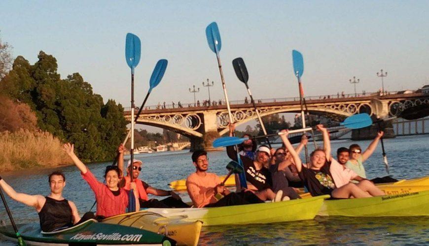 Kayak seville, kayak tour seville