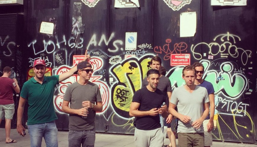 street art tour madrid